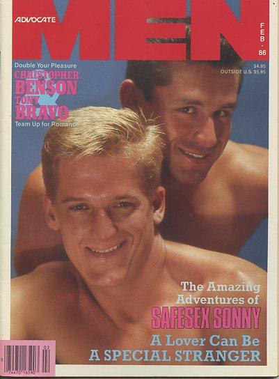 Advocate Men Magazine and Men Magazine Page 2